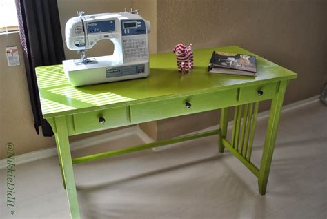 Sewing Machine Table Diy With Well