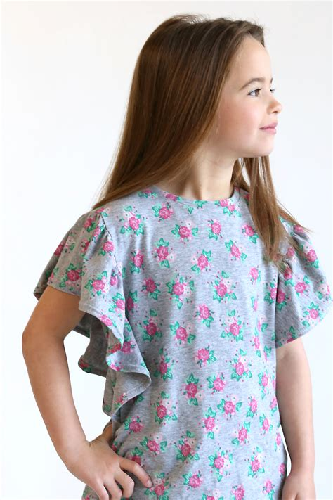 Sewing Patterns For Girls Tops