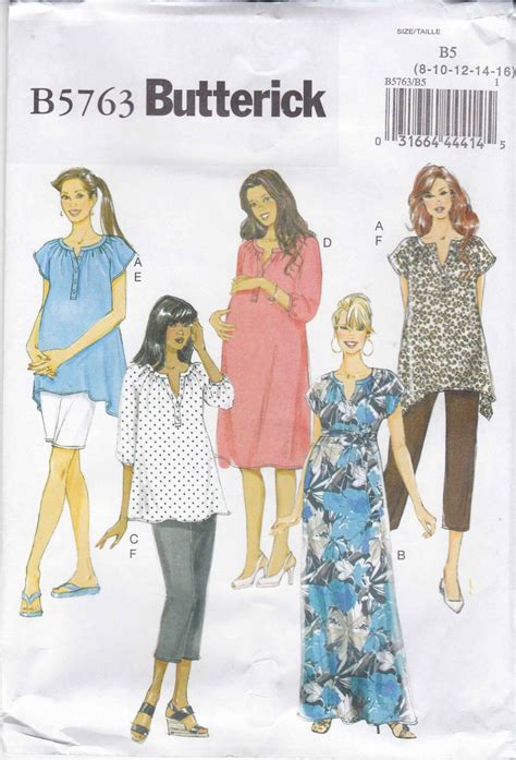 Sewing Patterns For Plus Size Maternity