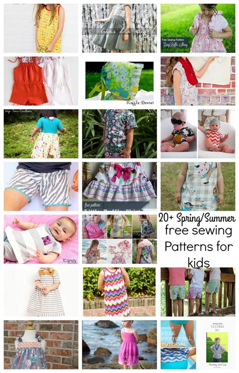 Sewing Patterns Free Kids
