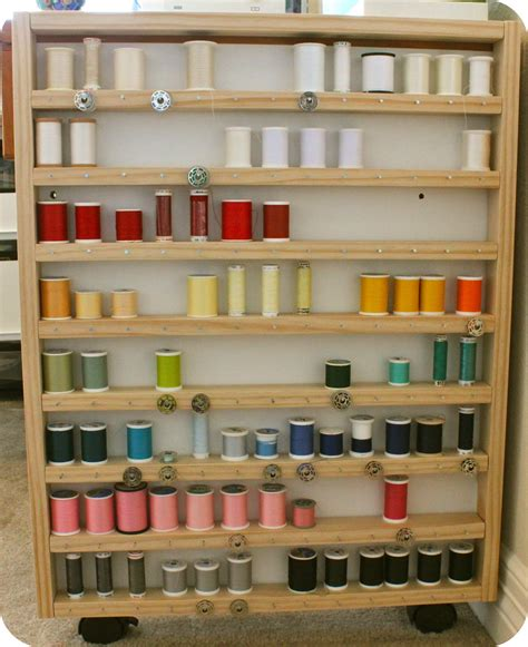 Sewing Thread Rack Plans