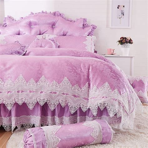Shabby Chic Bedding Lilac