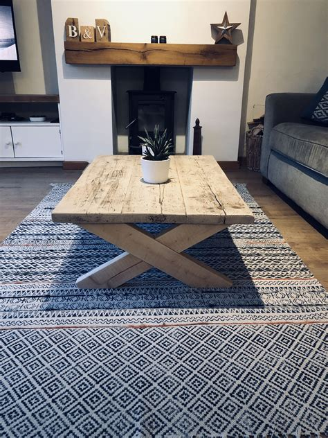 Shabby Chic Coffee Table Diy Bench
