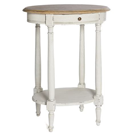 Shabby Chic Side Table White