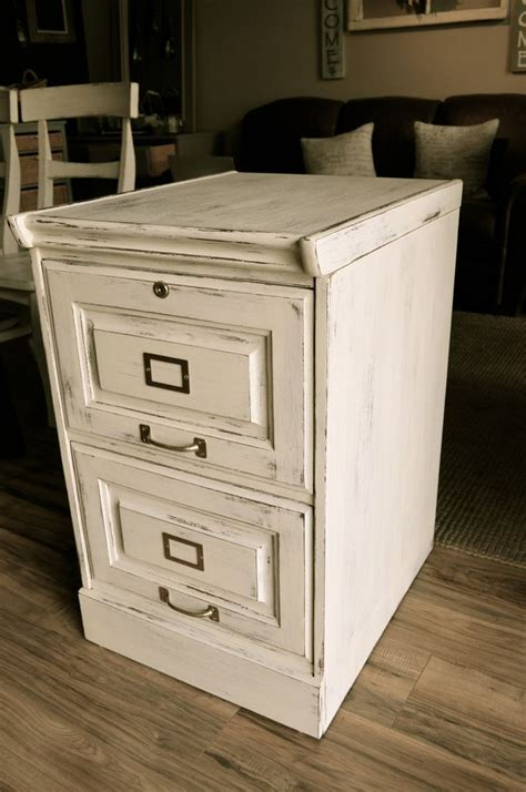Shabby-Chic-Filing-Cabinet-Diy-Project