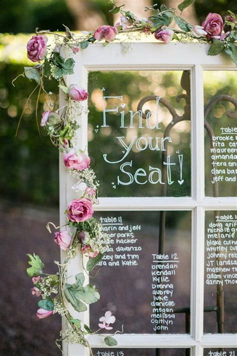 Shabby-Chic-Table-Plan-Frame