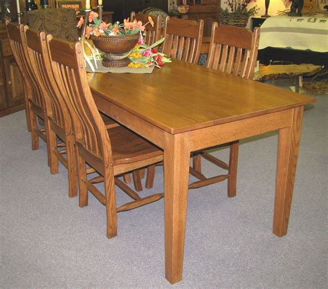 Shaker Dining Table Plans Qld