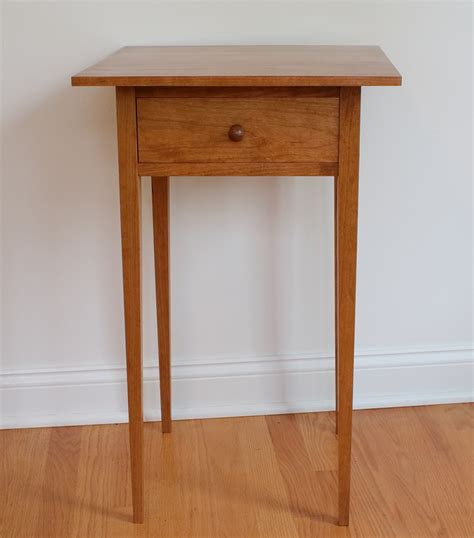 Shaker End Table Designs