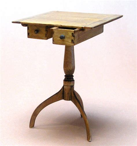 Shaker Sewing Table Plans