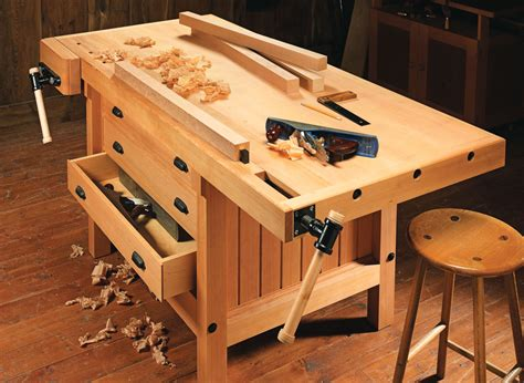 Shaker Style Cabinet Makers Workbench Plans