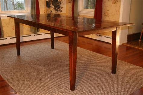 Shaker Style Dining Table Plans