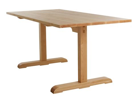 Shaker Style Trestle Table Plans