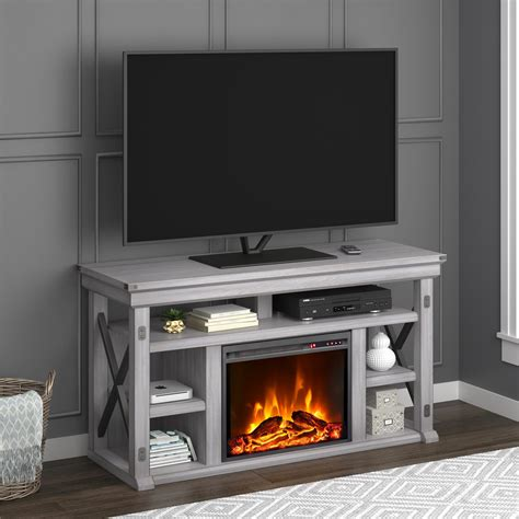 Shaker Tv Stand For Tvs Up To 60 With Fireplace