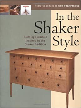 Shaker Woodworking Books