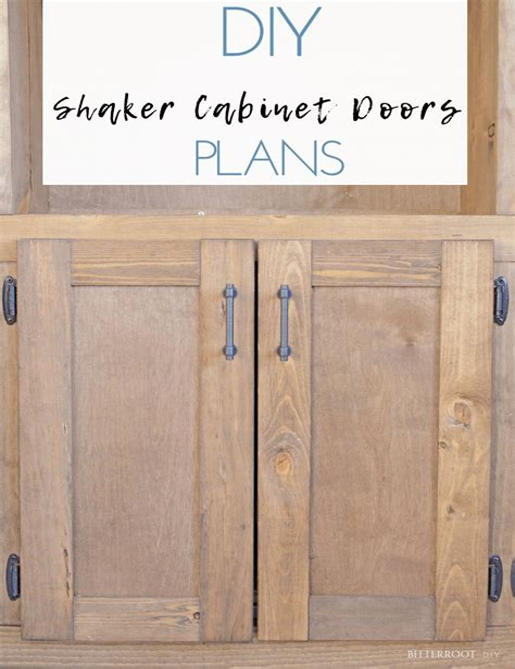 Shaker-Cabinet-Plans
