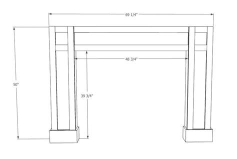 Shaker-Fireplace-Surround-Plans