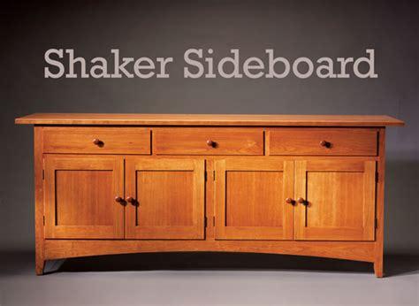 Shaker-Sideboard-Plans