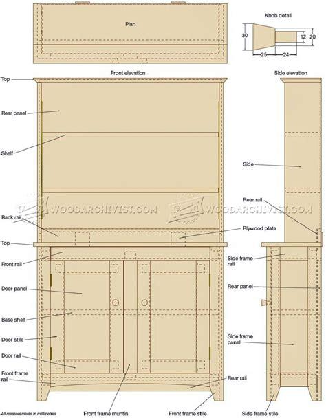 Shaker-Style-Bookshelf-Plans