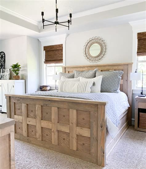 Shanty To Chic King Bed Plans
