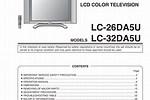 Sharp TV Manual PDF