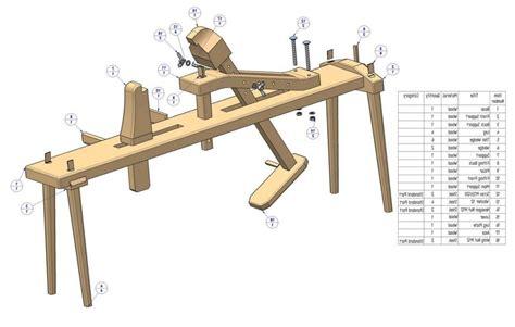 Shaving-Horse-Bench-Plans