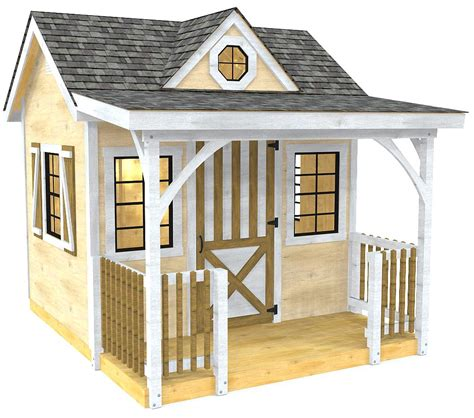 She Shed Plans With Porch