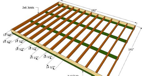 Shed Deck Plans