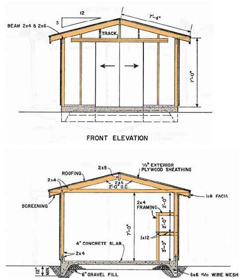 Shed Plans 10x14 Free