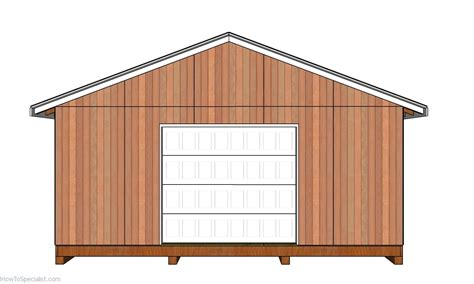 Shed Plans 20x20