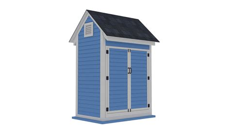 Shed Plans 4x6
