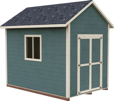 Shed Plans 8x12 Gable
