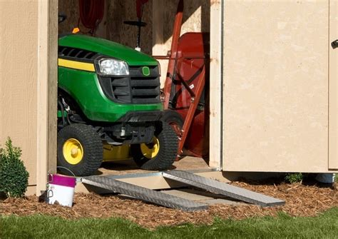 Shed Ramp Plans For A Riding Mower