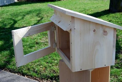 Shed Style Little Free Library Plans