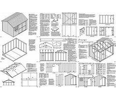 Best Shed 8 x 10 free 8x10 shed plans