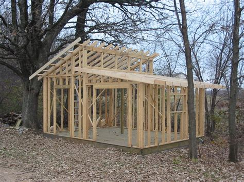 Shed-Building-Plans-Flat-Roof