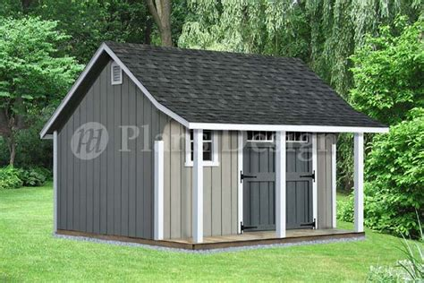 Shed-Plans-8x12-With-Porch