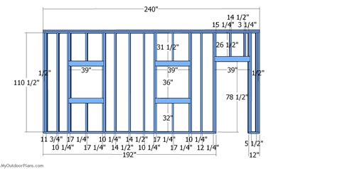 Shed-Plans-Window-On-End-Wall