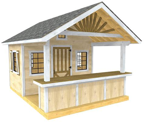 Shed-Plans-With-A-Porch