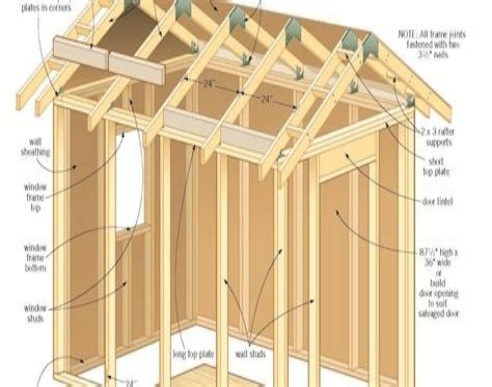 Shed-Slant-Roof-Plans