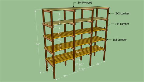 Shelf Construction Plans