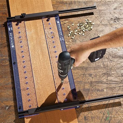 Shelf Drilling Jig Woodworking Tool