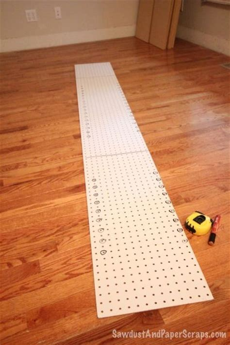 Shelf Hole Drilling Template