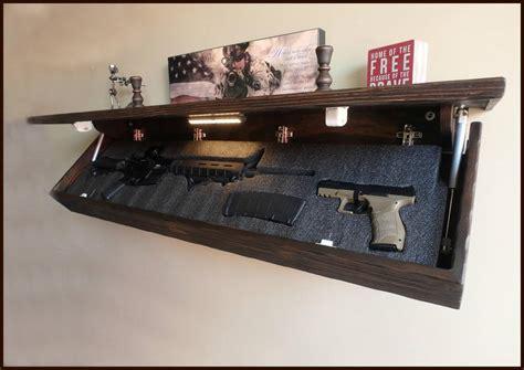 Shelf-With-Hidden-Gun-Compartment-Plans