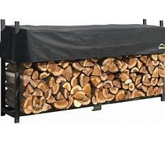 Best Shelterlogic covered firewood rack