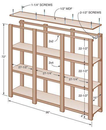 Shelves-Unit-Plans