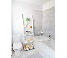 Best Shelving ideas for small bathrooms