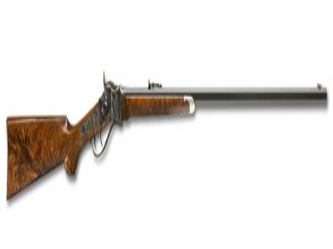 Shiloh Sharps 1874 Long Range Rifle For Sale And 22 Long Rifle Pistol Revolver