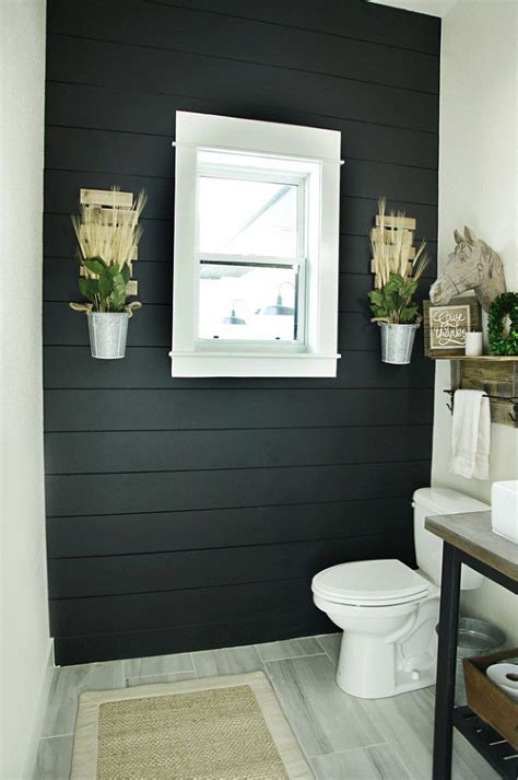 Ship Lap Bathroom Diy Curtains
