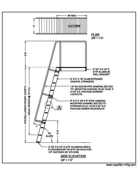 Ships Ladder Dimensions Pdf