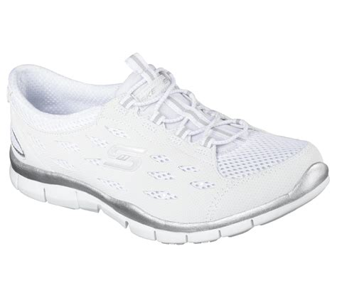 Shoe Dept Women's Skechers Gratis Bungee Sneaker Going Places White